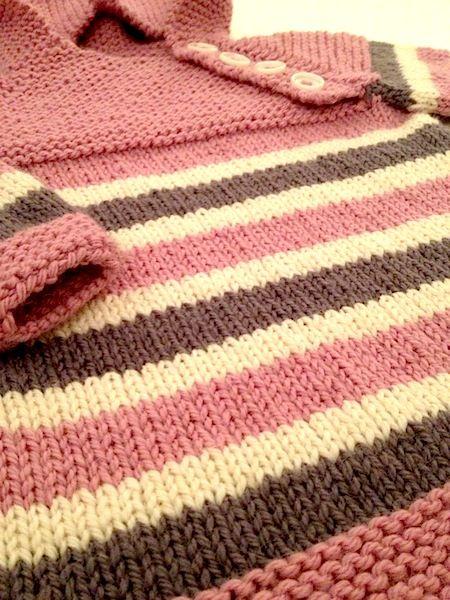 Oslo-anorakken er i vinden og jeg har fått den æren av å strikke en på bestilling. Den er strikket i DROPS Nepal på pinne nr 5.            ...