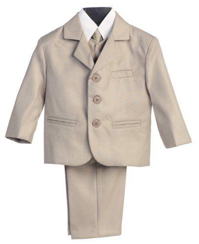 weddingstuffyouwant.unlimitedproductsolutions.com 5 Piece Khaki Suit with Shirt, Vest, and Tie - Boy's Size 8 Lito,http://www.amazon.com/dp/B0030XH5VQ/ref=cm_sw_r_pi_dp_KQpktb0TW86CK7AP