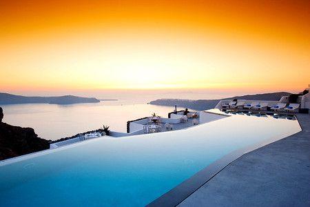 Grace Hotel : What an amazing swimming pool, Santorini, Greece | Sumally