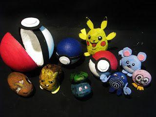 Pomysły plastyczne dla każdego, DiY - Joanna Wajdenfeld: Pokeballe dla pokemonów