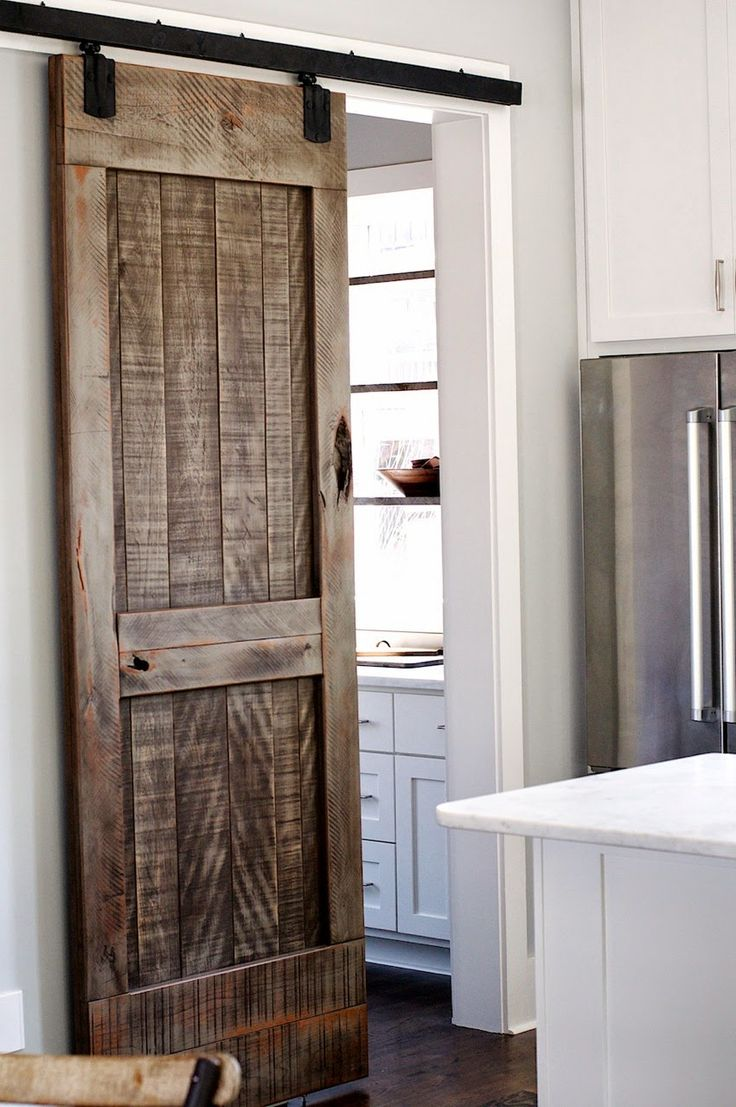 Best 25 grey distressed furniture ideas only on pinterest refinished furniture grey stain for Distressed wood interior doors