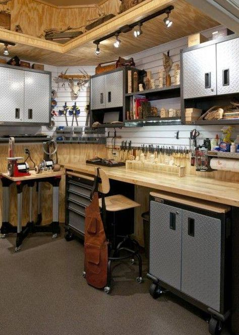 Marvellous How to Build a Workshop in Garage