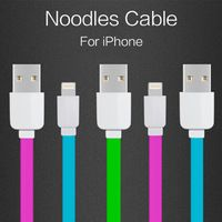2016 Top Fashion New Original Flat Wire Charging Usb Data Sync Cable For Ios 9 For Iphone 6 Plus /for 5 5s/for For Ipad 4 Mini