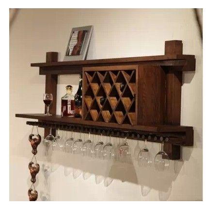 Американских ретро дерево вина шкафы продемонстрировать современный винный шкаф висит стене висит винные шкафы события