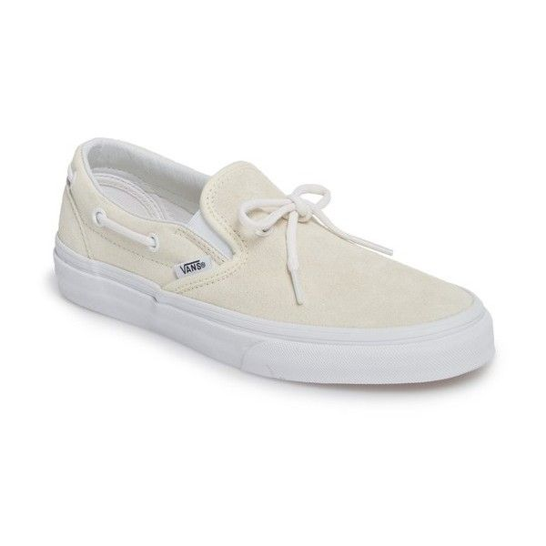 Women's Vans Ua Lacey 72 Slip-On Boat Sneaker (210 BRL) ❤ liked ...
