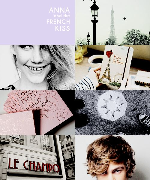 Unapologetically Bookish - dreammetheworld: Anna and the French Kiss ...