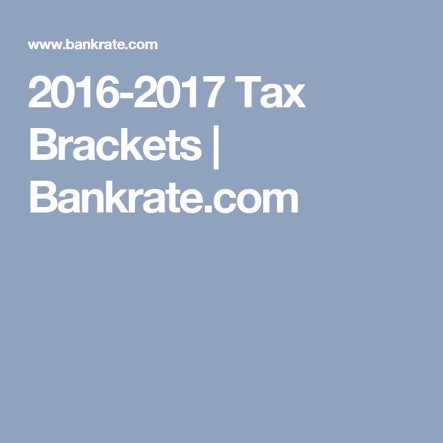 2016-2017 Tax Brackets   Bankrate.com
