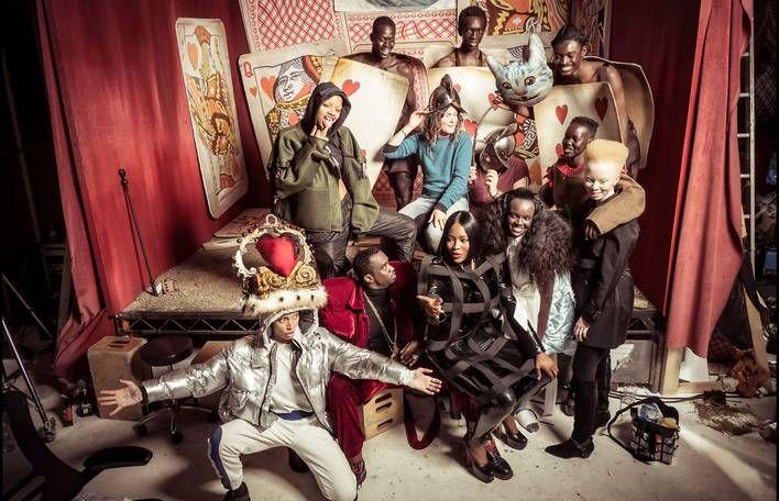 All-Black Cast in Pirelli's 2018 Calendar by Tim Walker       http://www.fubiz.net/en/2017/11/15/all-black-cast-in-pirellis-2018-calendar-by-tim-walker/?utm_campaign=crowdfire&utm_content=crowdfire&utm_medium=social&utm_source=pinterest