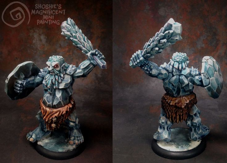 Ice Giant by Comfychair Games by Shoshie 2015