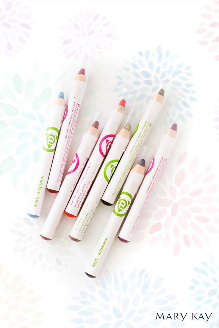Jugá y divertite con los Crayones para Labios y para Ojos de #MaryKayAtPlay