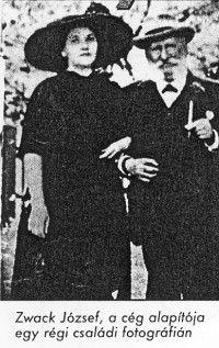 Zwack József egy régi családi fotográfián (Magyar Kereskedelmi és Vendéglátóipari Múzeum CC BY-NC-ND)