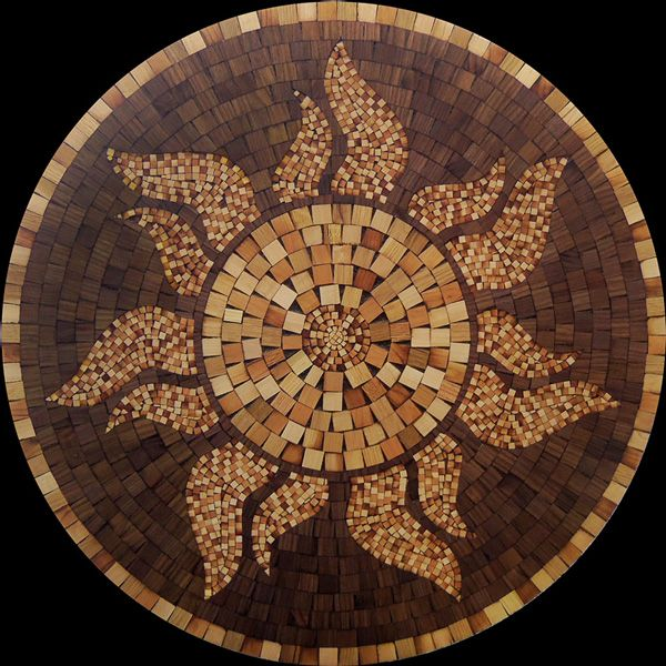 Mosaic Floor Inlay : Images about wood flooring medallions inlays