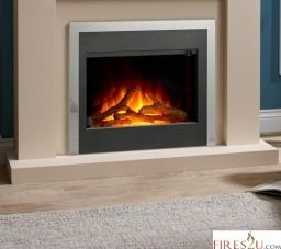 The Flamerite Alanta 3 is a beautiful electric fire featuring an infinity flame picture and an enclosed fuel bed. This inset electric fire can either come with brass or silver trim so will look great in any modern living room.