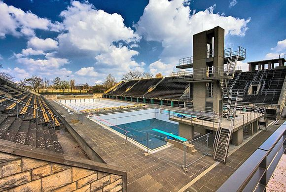 Swimming venue for the 1936 Summer Olympics in Berlin