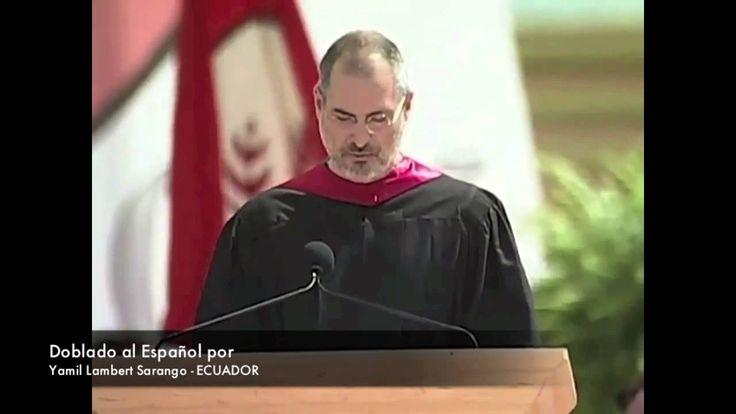 Discurso de Steve Jobs en la universidad de Stanford - Doblado al españo...