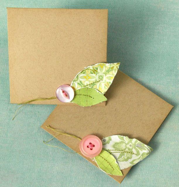Para fazer em casa: cartões de papel | COPY&PASTE