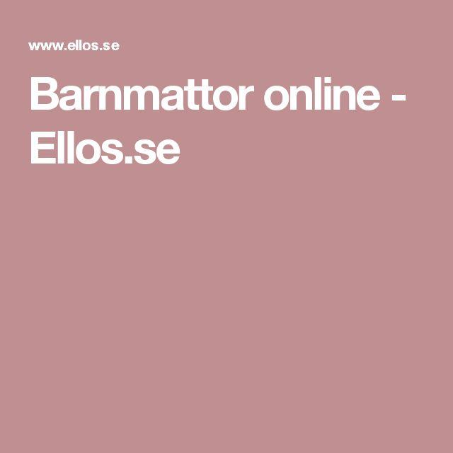 Barnmattor online - Ellos.se