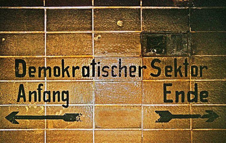 Schriftzug im Nordbahnhof