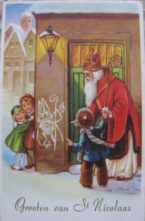 Groeten van St. Nicolaas.