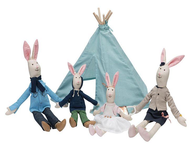 Kidsdepot Große Spielzeug-Stoffpuppe 'Hasenkind Tim' 25cm, ab 3 Jahren - im Fantasyroom Shop online bestellen oder im Ladengeschäft in Lörrach kaufen. Besuchen Sie uns!