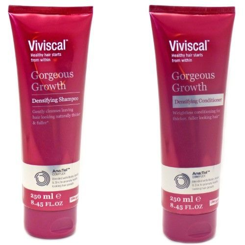 Combo Viviscal Gorgeous Growth Densifying Shampoo and Conditioner