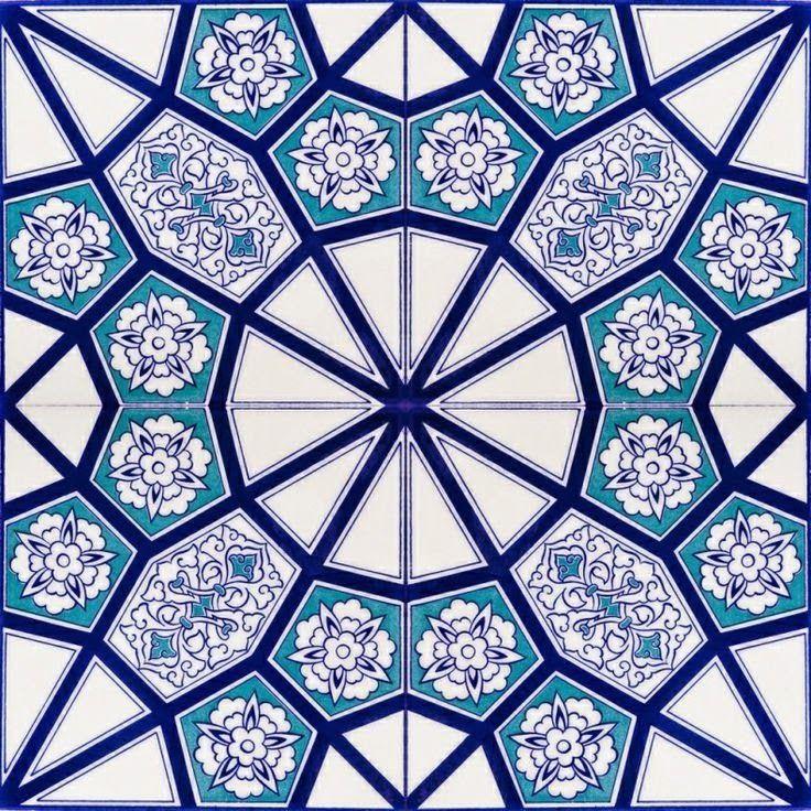 Image Result For زخارف اسلامية Islamic Tiles Turkish Ceramics Turkish Tiles