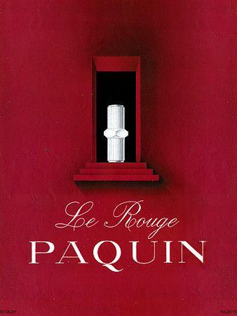 Paquin Lipstick. 1948   http://www.vintagevenus.com.au/vintage/reprints/info/FAS436.htm