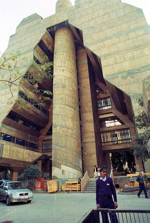 NCDC Building New Delhi Kuldip Singh 1980 Architecture Pinterest The
