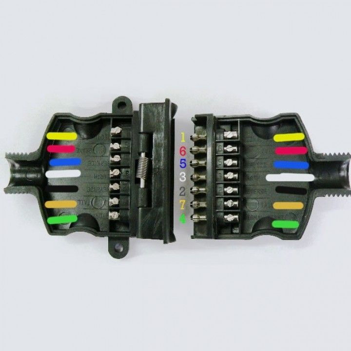 7 Pin Trailer Plug Wiring Nz