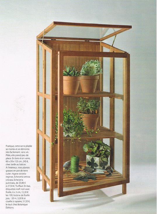 1000 ideas about serre en bois on pinterest une serre. Black Bedroom Furniture Sets. Home Design Ideas