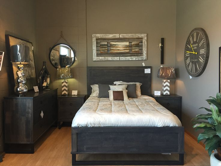 Canadian made Handstone Cumberland bedroom. Available in a variety of wood  types, stain and