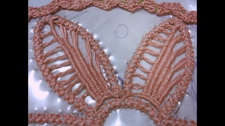 Laseta/ Punto riempimento petali(9)/ Point lace