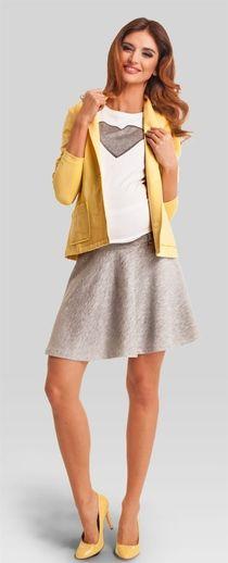 Parisian grey skirt