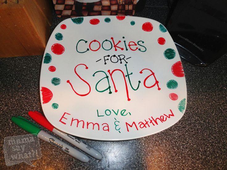 Χειροποίητες Χριστουγεννιάτικες πιατέλες και κούπες :