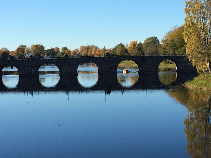 The old bridge in Karlstad