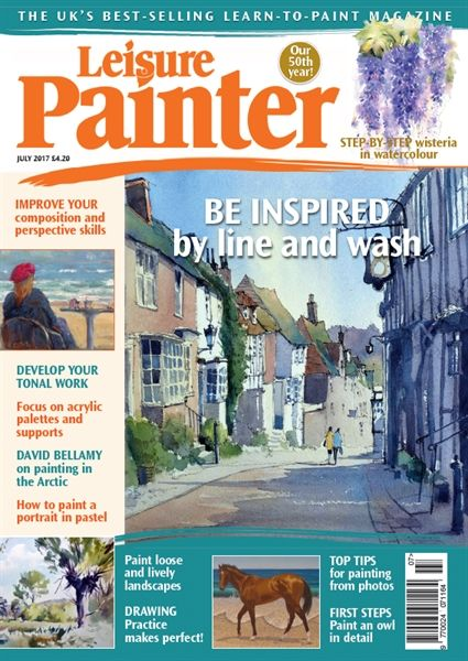 July 2017 Leisure Painter. Buy online, http://www.painters-online.co.uk/