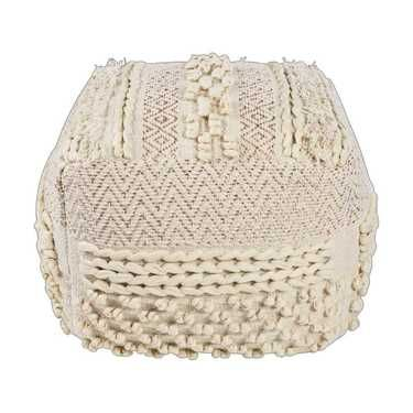 Tilly Moroccan Wedding Pouf Multicoloured