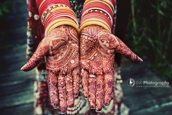 Beautiful Henna for Sikh Wedding - DA Photography