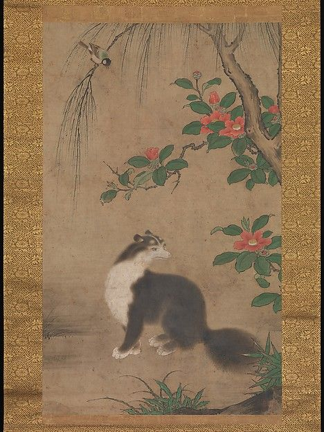 "Uto Gyoshi (Japanese, active second half of 16th century). Musk Cat, second half of the 16th century. Muromachi period (1392–1573). Japan. The Metropolitan Museum of  Art, New York. Mary Griggs Burke Collection, Gift of the Mary and Jackson Burke Foundation, 2015 (2015.300.66)  |  This work is exhibited in the ""Celebrating the Arts of Japan: The Mary Griggs Burke Collection"" exhibition, on view through January 22, 2017.#AsianArt100"