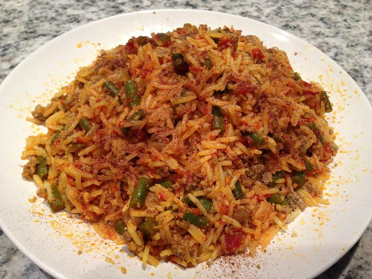 Rice and beans_ لوبیاپلو