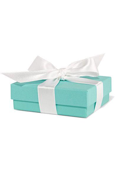 "Tiffany & Co - T Smile 16"" 18-karat Rose Gold Diamond Necklace - one size"