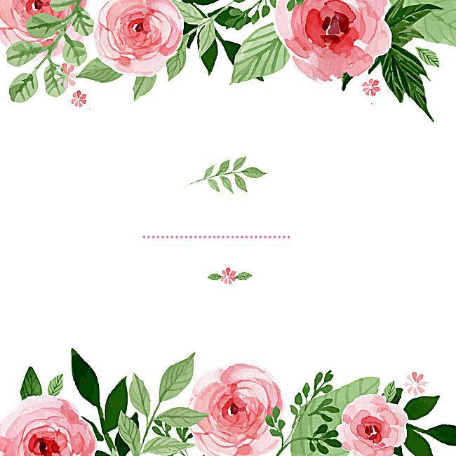 Wedding Invitation Card Roses Poster Con Imagenes Invitaciones