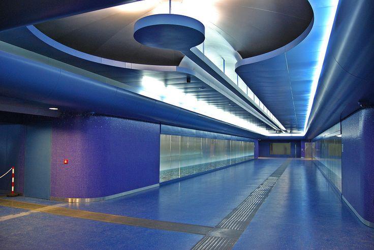 Toledo Metro Station, Naples, Italy - 20 Coolest Subway ...