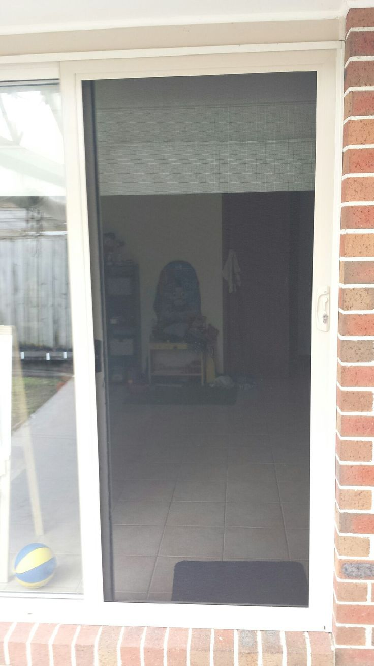 Aluminum frame security sliding door with stainless steel mesh no bars or grilles for a & 17 best Security screen doors images on Pinterest | Security ... pezcame.com