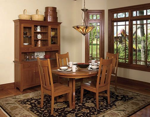 craftsman dining set mission style - Google Search