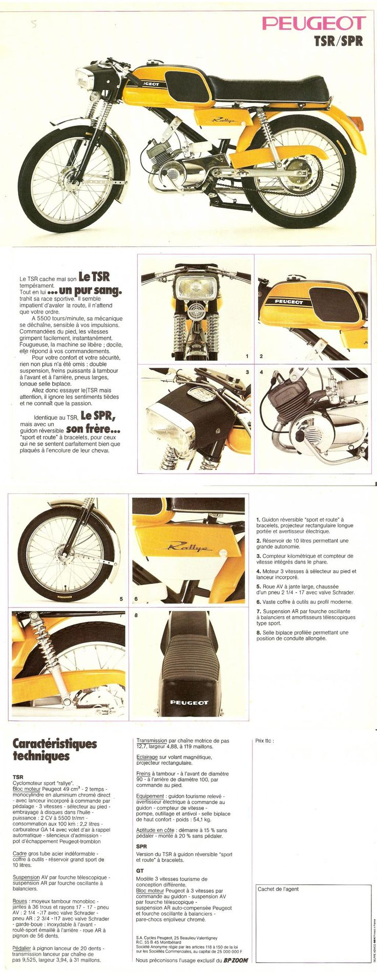 Peugeot TSR/SPR