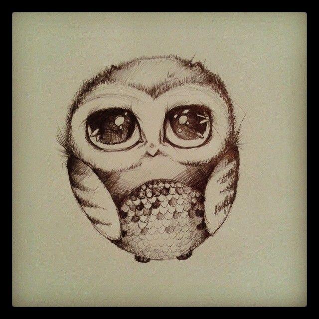 Agata Maria Bieć #agatamariabiec #illustration #owl