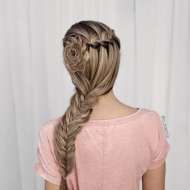 83 Best Braid Updo Images On Pinterest Cute Hairstyles