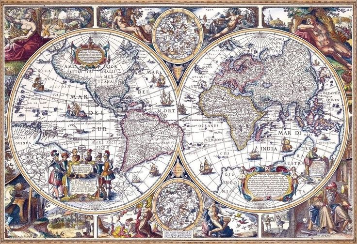 Beverly Jigsaw Puzzle M81-537 Antique Map (1000 S-Pieces) #Beverly