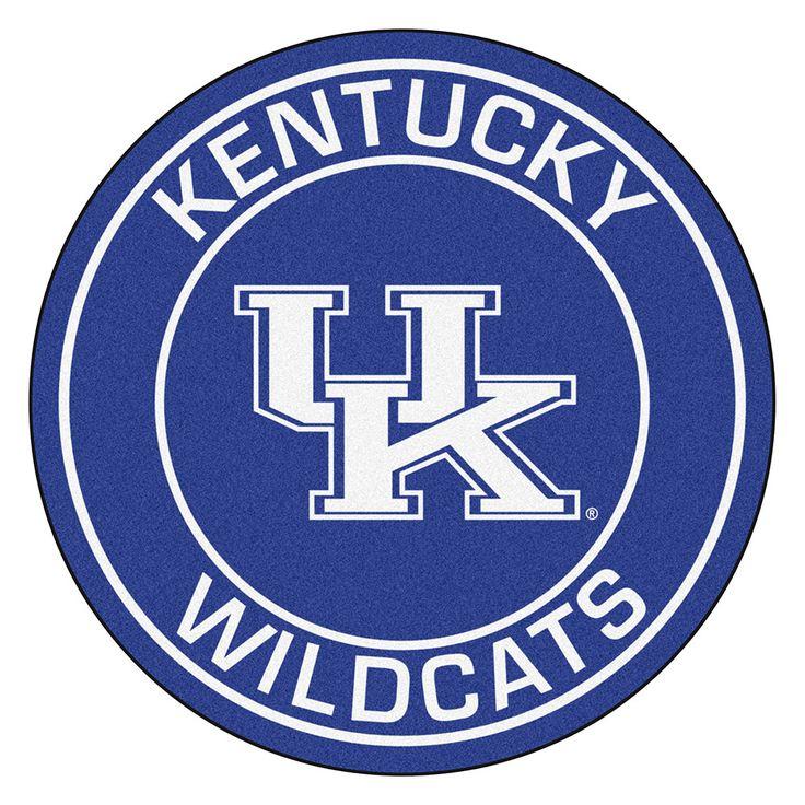 Kentucky Wildcats NCAA Rounded Floor Mat 29in
